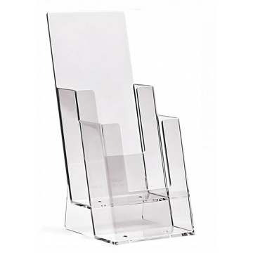 2C110 - 2 Compartment Brochure Holder DL