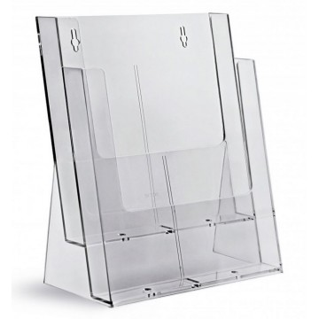 2C230X - 2 Compartment Brochure Holder A4