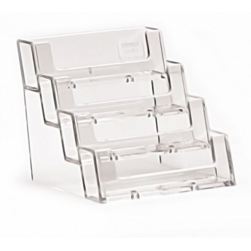 4BC93 - 4 Compartment Business Card Holder