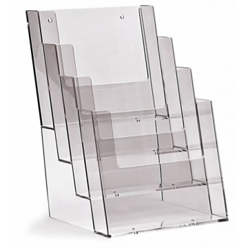 4C160 - 4 Compartment Brochure Holder A5