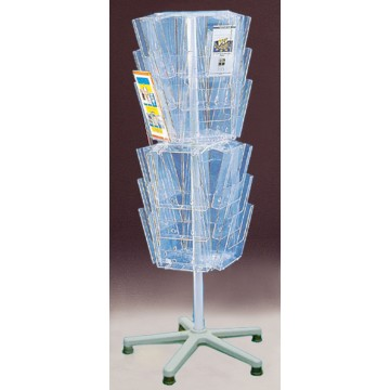 24F230 - 24 Pockets Brochure Display Stand A4