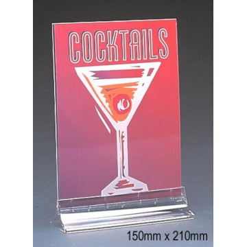 (M series) Double-sided Menu Holder A5