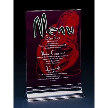 M-120 - Double-sided Menu Holder DL