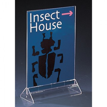 (V series) Double-sided Information Holder A5